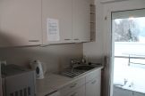 Küche für Hausgäste auf dem Rosenbergerhof